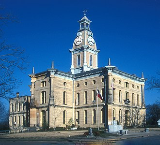 Red River County, Texas - Image: RED RIVER COUNTY COURTHOUSE