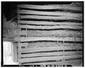 REMAINS OF OLD LOG BARN - Red Barn, (New Tripoli vicinity), Lyon Valley, Lehigh County, PA HABS PA,39-LYVA,1A-3.tif