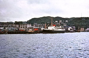 RMS Claymore at Oban in 1970