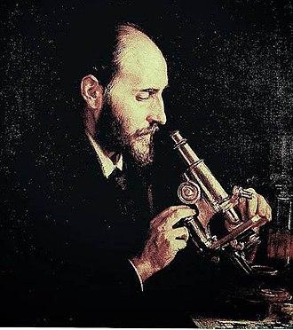 Ricardo de Madrazo - Portrait of Santiago Ramón y Cajal (1910)