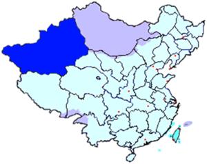 Xinjiang Province - Xinjiang of ROC (1912 - 1949)