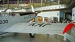 ROKAF TF-51D(030) right wing rear view at Jeju Aerospace Museum June 6, 2014.jpg