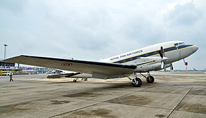 Royal Thai Air Force - A Basler BT-67 cargo airlifter