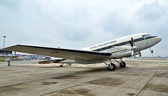 Royal Thai Air Force - A Basler BT-67 cargo airlifter