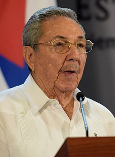 Raúl Castro Former First Secretary of the Communist Party of Cuba and former President of Cuba