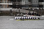 Racing boats during the The Boat Race in spring 2013 (1).JPG