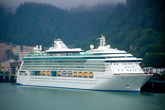 Radiance of the Seas - Image: Radiance of the Seas Juneau, AK