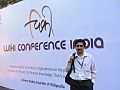 Rahul during WikiConference India 2011.jpg