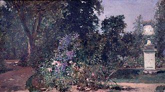 Musée Lambinet - Image: Raimundo Madrazo Versailles, le jardin du Roi