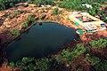 Rajarajeshwari temple lake.jpg
