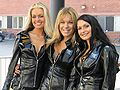 Rally Finland girls at the 2004 Rally Finland.jpg