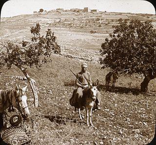 Ramathaim-Zophim human settlement