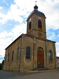 Ranzières L'église Saint-Étienne.JPG