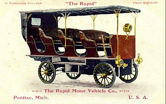 Rapid Motor Vehicle Company - 19 passenger Pullman vehicle.