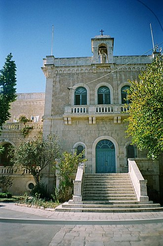 Ratisbonne Monastery - Ratisbonne monastery, Jerusalem