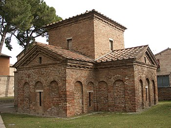 Mausoleum der Galla Placidia in Ravenna