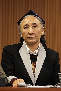 Uyghur politician, activist and businesswoman