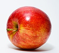 A typical apple