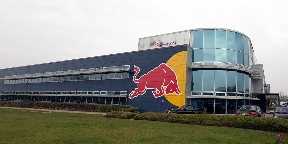 Red Bull Racing factory south-west