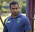 Reece Robinson at an Raiders autograph session at Bolton Park.jpg