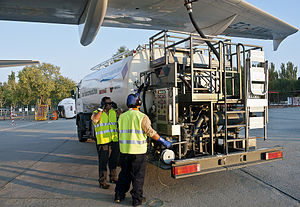 Fuel economy in aircraft - Refuelling an A320 airliner with biofuel