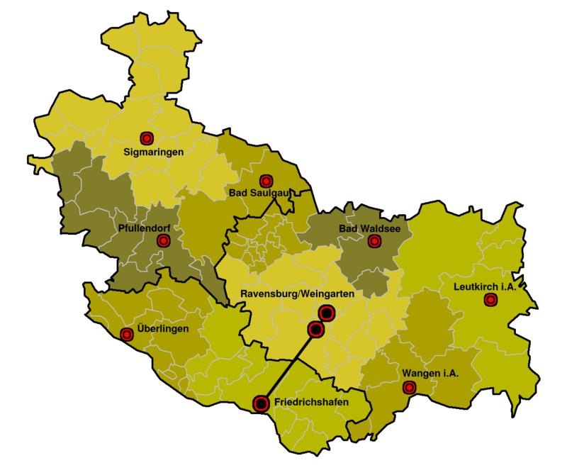 Region Bodensee Oberschwaben Wikiwand