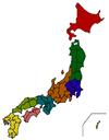 Regions of Japan