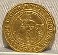 Regno di napoli, alfonso I, oro, 1442-1458, 01.JPG