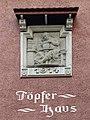 Relief an der Töpferstrasse in Luzern von Paul Irenä Amlehn (1867–1931) Bildhauer.jpg