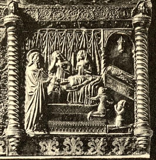 Relikviář sv. Simeona detail