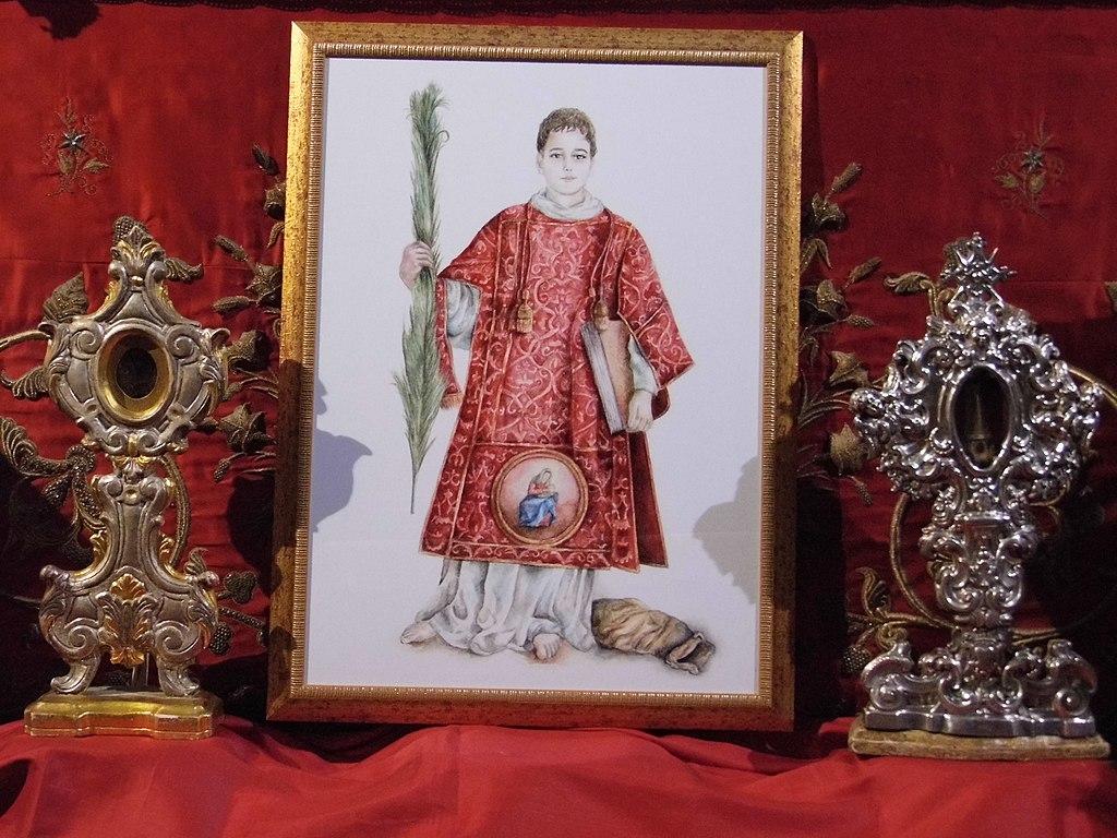 File reliquiari di san cesario diacono e martire san for Albanese arredamenti san cesario lecce