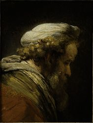 Rembrandt: Head of a Man in a Turban