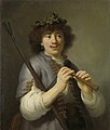 Rembrandt als herder met staf en fluit Rijksmuseum SK-A-3451.jpeg