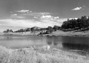 Mary O'Hara (author) - Image: Remount ranch landscape