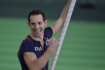 French pole vaulter Renaud Lavillenie was elected to the Athletes' Commission in 2019. Renaud Lavillenie Portland 2016.jpg