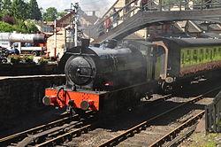 Repulse at Haverthwaite railway station (6587).jpg