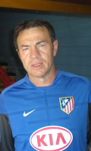 Abel Resino - Abel as a coach at Atlético Madrid
