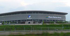 Rhein-Neckar-Arena - Image: Rhein Neckar Arena Sinsheim