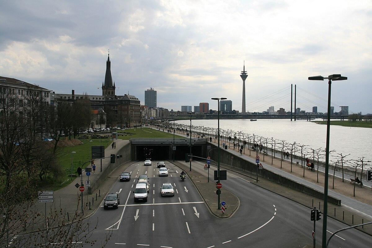 Rheinufertunnel D Sseldorf Wikipedia