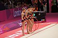 Rhythmic gymnastics at the 2012 Summer Olympics (7915323774).jpg