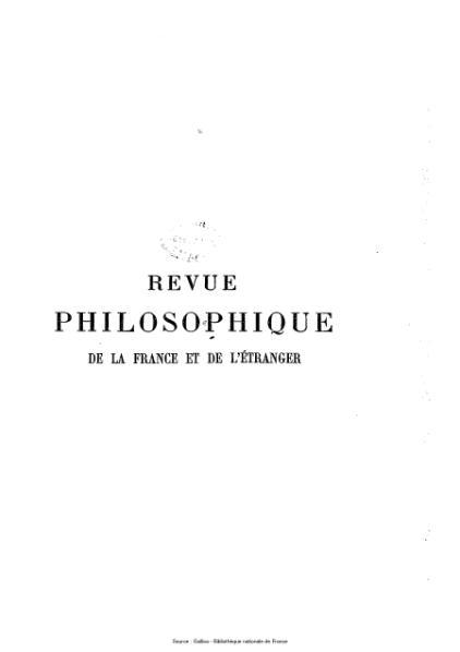 File:Ribot - Revue philosophique de la France et de l'étranger, tome 74.djvu