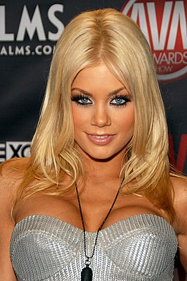 Riley Steele op de 2010 AVN Adult Entertainment Expo in het Palms Casino Resort in Las Vegas