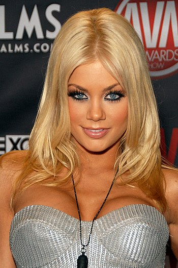 English: Riley Steele attending the AVN Awards...