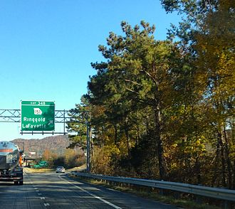 Ringgold, Georgia - Ringgold, Georgia Exit