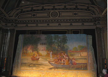 English: Inside the Al. Ringling Theater in Ba...
