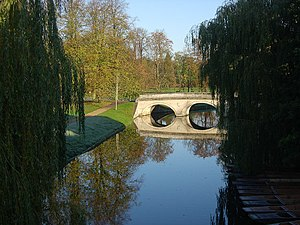 English: River Cam in Cambridge Looking toward...