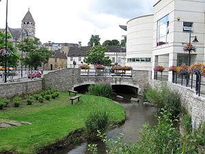 Calne - Image: River Marden 01