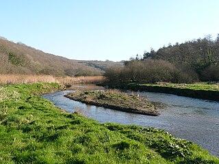 River Camel River in the United Kingdom