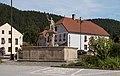 Rožmberk nad Vltavou, sculptuur kašna se sochou svatého Floriána Dm296963-1426 IMG 5999 2018-07-29 16.20.jpg