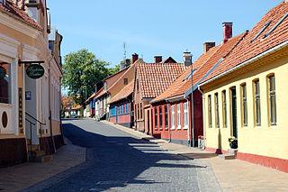 Town in Capital, Denmark